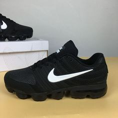 sale retailer 8d4d3 41579 Nike Air Vapormax 2017 KPU Black White Men Sneakers