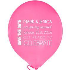 Balloon Invites Via Jenny Cookies Balloons by Harper Gray