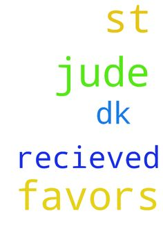 thank you jesus  and st jude for favors - thank you jesus and st jude for favors recieved.. dk Posted at: https://prayerrequest.com/t/HcY #pray #prayer #request #prayerrequest