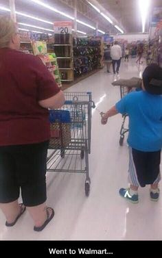 Funny pictures of the day (62 pics) Go To Walmart, Walmart Funny, People Of Walmart, Funny People, Ghetto People, Funny Cute, The Funny, Hilarious, Humour