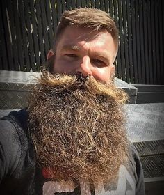 Epic Beard, Gay Beard, Beard No Mustache, Great Beards, Awesome Beards, Beard Styles For Men, Hair And Beard Styles, Moda Masculina, Tattoos