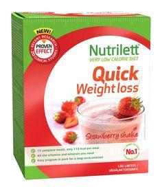 Nutrilett Shake Mansikka 15x33 g - Painonhallinta - toknet.fi 17,55 (vain ja aioastaan tämä Guick weight loss käy)