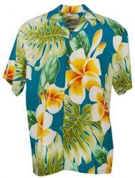 Plumeria Paradise Mens Hawaiian Aloha Shirt in Jade Paradise Clothing, Going Barefoot, Mens Hawaiian Shirts, Bowling Shirts, Aloha Shirt, Clothing Co, Shirt Outfit, Jade, Men Casual