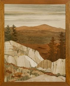 Pumpelly Ridge | Craig Altobello - Marquetry - fine crafted art in wood