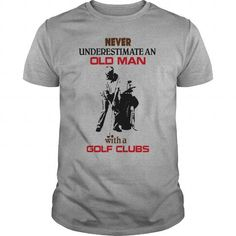 Old Man with a Golf Clubs