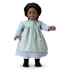 Addy's Work Dress and Apron - American Girl Wiki - Wikia American Girl Outfits, Addy American Girl, American Doll Clothes, Ag Doll Clothes, Doll Clothes Patterns, Clothing Patterns, Apron Patterns, Doll Patterns, Dress Patterns