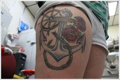 Anchor Tattoo Meaning and Designs (28)