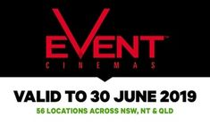 Groupon - Event Cinemas: GA Tickets for $ 13.50, 56 Locations in NSW, NT and QLD in Multiple Locations. Groupon deal price: $13.50 Gift Card Deals, Cinema Experience, Movie Marathon, Movie Tickets, Kids Shows, Lego Movie, Period Dramas, Night Life, Acting