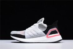 Adidas Ultra Boost 2019 Cloud White Active Red - B37703 Mens Winter Running Shoes Winter Running Shoes, Adidas Running Shoes, Adidas Ultra Boost Shoes, Mens Winter, Snug, Cloud, Adidas Sneakers, Footwear, Red