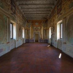 There are various places around Mantua and Sabbioneta that were built for the Gonzaga family, many of them now on the UNESCO World Heritage list. If you look carefully here, you might pick one of the inspirations for Pierangelo's Gonzaga designs..