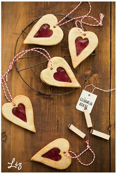 Heart-shaped with mulled wine. Photo by Miller Blythe Miller Blythe Weiner & Foodstyling by Chuah red stitch Linder for Wine Cookies, Heart Cookies, Cupcake Cookies, Sugar Cookies, Cupcakes, Holiday Cookie Recipes, Holiday Cookies, Mistletoe And Wine, Girl Cooking