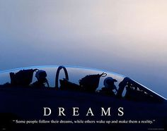 Dreams MILT26 US Navy Air Force Jet Motivational Poster US Military Poster | eBay