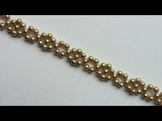 simple seed bead chain