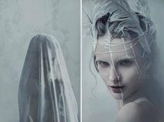 Photography | Evelyn Benčičová  Model | Natália Makeup & Hair | Jarka Vladyka  Dress | Aďa Pojezdálová — with Aleja Sanchez.