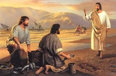 "..Then Jesus said to Simon, ""Don't be afraid; from now on you will fish for people."" Luke 5:10 #jesus"