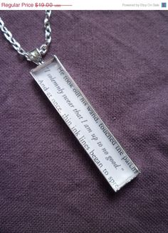 Harry Potter Jewelry I solemnly swear that I by StorybookWhimsies, $17.10