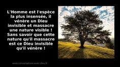 L'Homme est l'espèce la plus insensée il vénère un Dieu invisible et massacre une Nature visible ! Sans savoir que cette nature qu'il massacre est ce Dieu invisible qu'il vénère !  http://ift.tt/1hbAx37