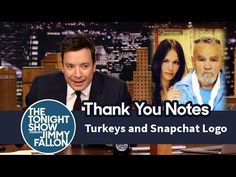 thank you notes jimmy fallon Jimmy Fallon Youtube, Snapchat Logo, Everything Funny, Tonight Show, Thank You Notes, To My Future Husband, Make You Smile, Comedy, Humor