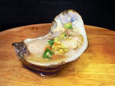 ChezWhat?: Orange-Ginger Mignonette for national oyster day
