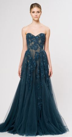 Get inspired: Reem Acra (@Reem_Acra) Ready To Wear 2013.. perfect for the bridesmaids! #wedding