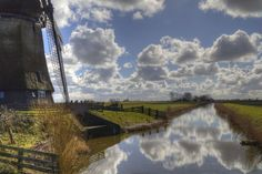 Dewatering Mill II by Gerrit Kuyvenhoven on YouPic Canon Eos, Holland, River, Outdoor, Outdoors, The Netherlands, Netherlands, Outdoor Games, The Great Outdoors