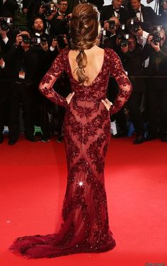 Cheryl Cole Hair at Cannes