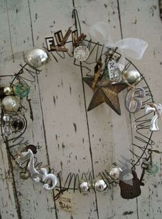 not your Grandma's wreath | Vintage & creative treasures for home, garden & life! furniture, clothing, art, creative supplies, Jewellery & Decor in Lethbridge, AB | Scoop.it