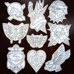 Flashs disponibles/availables Traditional Heart Tattoos, Traditional Tattoo Art, Traditional Flash, Old Tattoos, Baby Tattoos, Body Art Tattoos, Dessin Old School, Dibujos Tattoo, Tatoo Designs