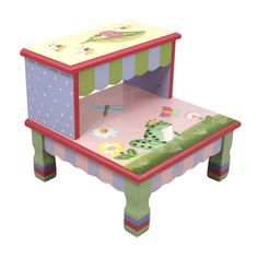 Amazon.com: Fantasy Fields - Magic Garden Step Stool: Toys & Games