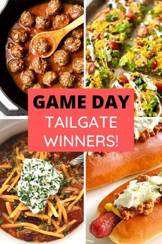 Even if your team loses, you'll win with these awesome TAILGATE RECIPES! Score! #tailgate #gameday #biggame #picnic #party #football | QuicheMyGrits.com Catering Recipes, Catering Food, Tailgating Recipes, Tailgate Food, Southern Dishes, Southern Recipes, Top Recipes, Beef Recipes, Southern Coleslaw