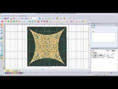 ▶ Artwork Embellishments - Floriani My Decorative Quilter (MDQ) - YouTube