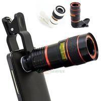 Universal 8xZoom Optical Camera Telephoto Telescope Lens Holder For Mobile Phone