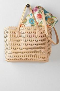 Moselle Perforated Tote