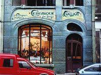 Hector Guimard, Casa Coillot en Lille, hacia 1900. La fachada adquiere texturas desiguales, como difiere la piel del envés y el revés de una mano.