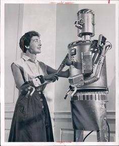 The Robot Always Gets His Woman.....!!
