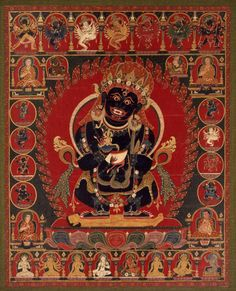 danielwamba: Mahakala Tibetan16th century Object Place: Tibet