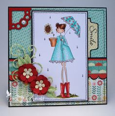 Just smile by TracyMac - Cards and Paper Crafts at Splitcoaststampers