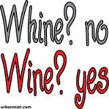 Can never say No to wine...