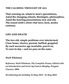 The Tell Tale Heart, The Complete Poems, Classic Poems, Penguin Classics, Walt Whitman, Writing Poetry, Life And Death, Interesting Reads, Queen Quotes