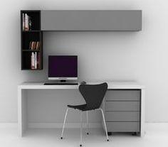 Study Table Designs, Study Room Design, Modular Furniture, Home Furniture, Furniture Design, Home Office Design, Home Office Decor, Home Decor, Interior Design Living Room