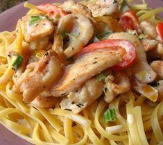 Weight Watchers Recipes and Tips. | Cajun Chicken Pasta