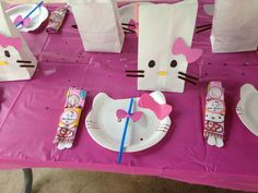Hello kitty party 3rd bday