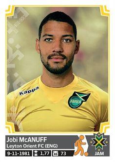 197 Jonbi McAnuff - Jamaica - Copa America Chile 2015 - PANINI