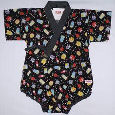 Baby kimono baby clothes by SUIKA quimono infantil da SUIKA bodysuit