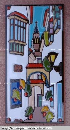 imágenes para cuerda seca - Buscar con Google Ceramic Shop, Ceramic Wall Art, Latino Art, High School Art Projects, Easy Canvas Painting, Color Crafts, Stained Glass Designs, Naive Art, Sculpture Clay