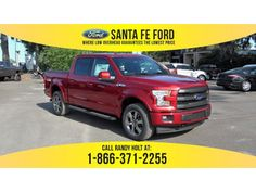 2017 Ruby Red Metallic Tinted Clearcoat Ford F-150 Lariat 372371