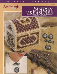 Fashion Treasures Plastic Canvas Pattern by needlecraftsupershop, $4.50