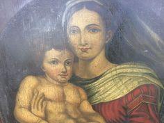 La vierge et l'enfant XIXème siècle