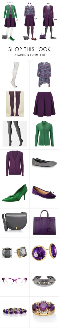 """""""Halloween Capsule - Print Tunic and Purple Skirt 2"""" by tracy-gowen ❤ liked on Polyvore featuring Emilio Cavallini, Avenue, Viyella, Full Tilt, McQ by Alexander McQueen, Nine West, Victoria Beckham, Yves Saint Laurent, Kate Spade and Marco Bicego"""