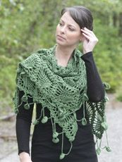 crochet pattern - alpine shawl -  I would leave off the dangling edge treatment.  I'd catch it on all kinds of things.